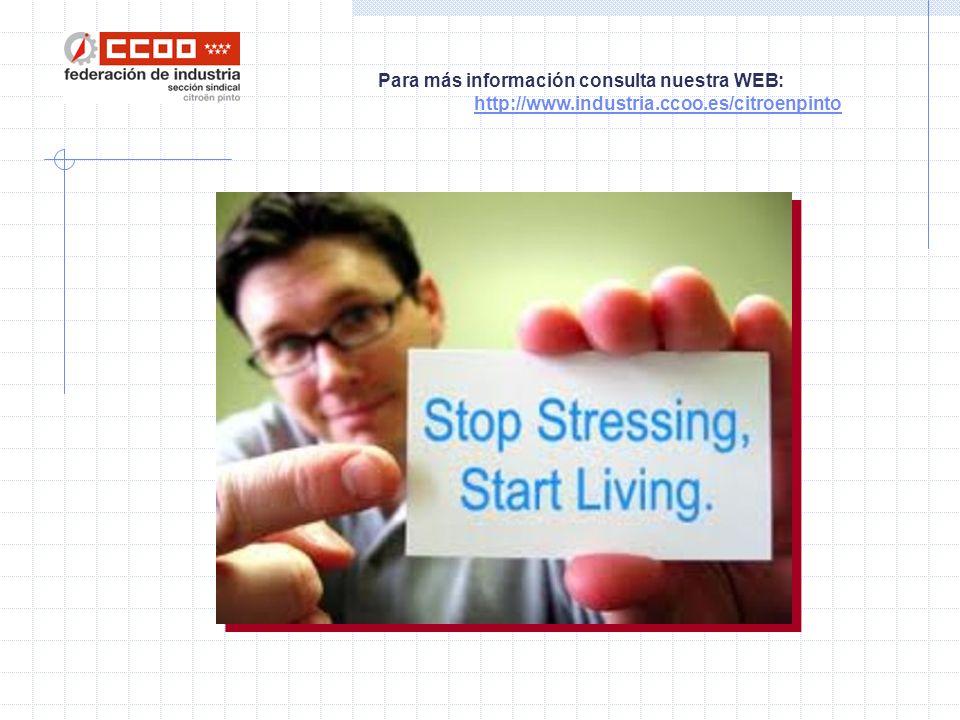 Para más información consulta nuestra WEB: http://www.industria.ccoo.es/citroenpinto No estás solo.