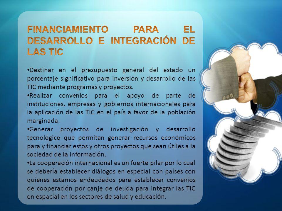 BIBLIOGRAFIA http://www.proasetel.com/index.htm http://feedproxy.google.com/CambiemosEcuador-LosLectoresOpinan http://tecnodatum.com/acerca-de-este-blog/ title= Acerca de este blog http://www.exitoexportador.com/index.html ESTRATEGIA NACIONAL PARA LA SOCIEDAD DE LA INFORMACIÓN Y EL CONOCIMIENTO PLAN DE ACCION 2005-2010 (Agenda de conectividad CONATEL) Sistema de telefonía móvil celular SENATEL ING.