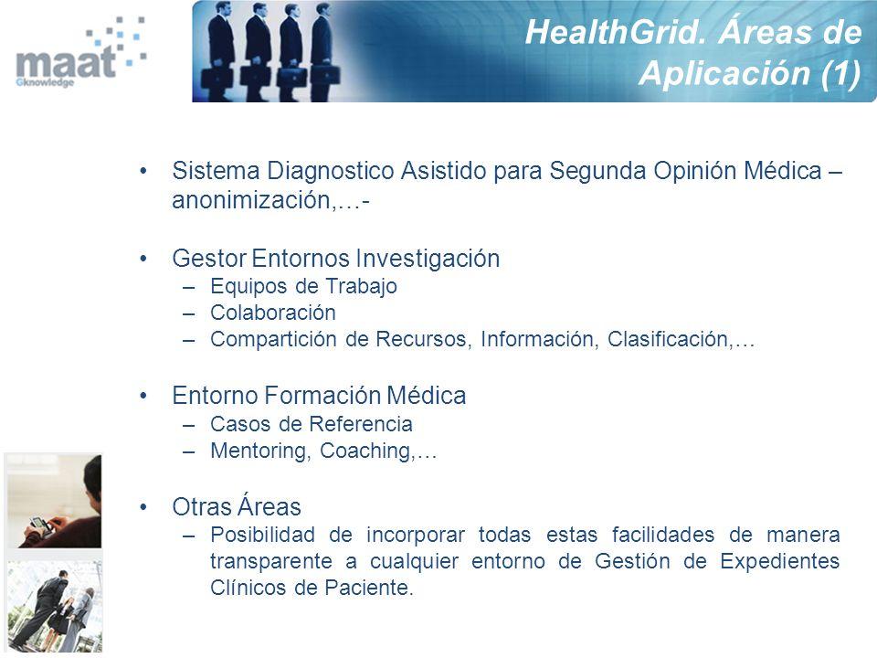 Sistema Diagnostico Asistido para Segunda Opinión Médica – anonimización,…- Gestor Entornos Investigación –Equipos de Trabajo –Colaboración –Compartic