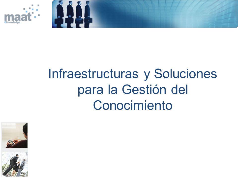 Infraestructuras y Soluciones para la Gestión del Conocimiento