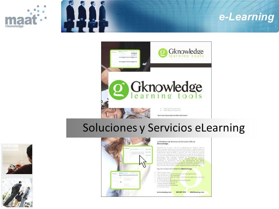 Soluciones y Servicios eLearning e-Learning