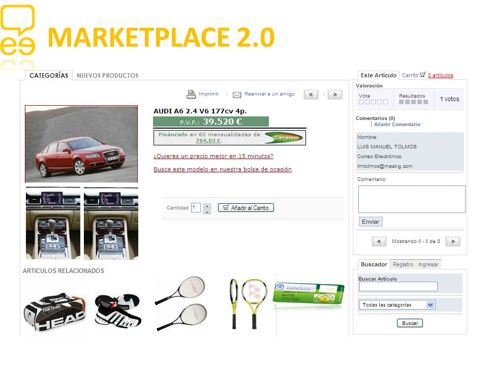 MARKETPLACE 2.0