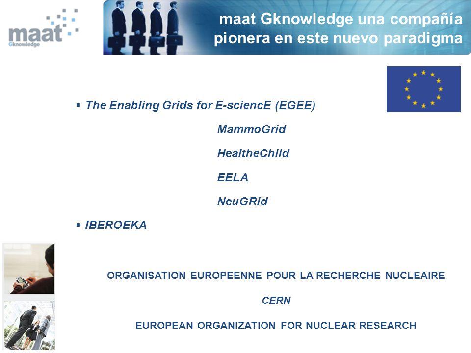 Acuerdo Estratégico 2005-2008 CIEMAT & maat Gknowledge CETA-CIEMAT (Extremadura)
