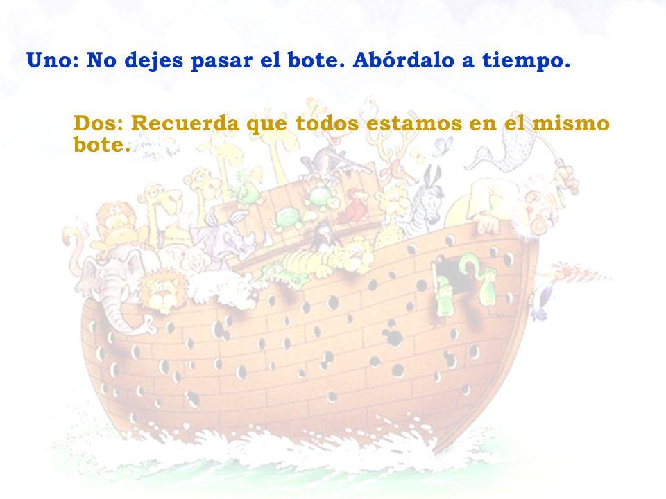 Tres: Planifica a tiempo.No estaba lloviendo cuando Noe construyó el Arca.