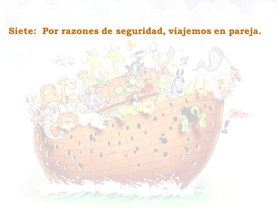 Ocho: La velocidad no siempre es ventaja.El caracol llegó al bote al igual que el chita.