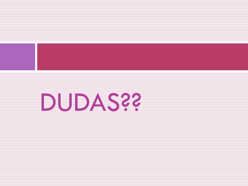 DUDAS??