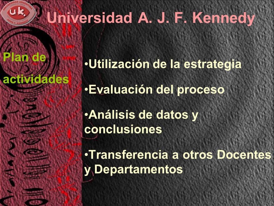 Universidad A. J. F.