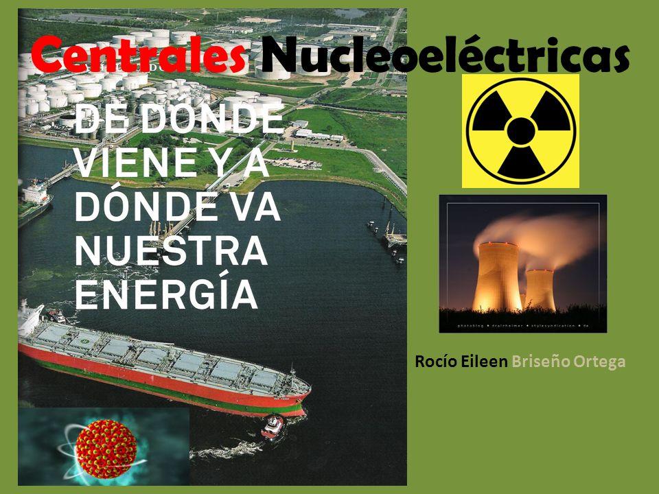 Centrales Nucleoeléctricas Rocío Eileen Briseño Ortega