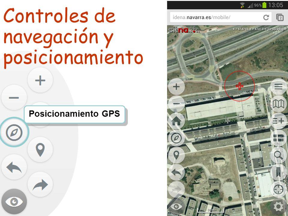 TALLER SITNA PARA MÓVILES SITNA en tu móvil Posicionamiento GPS Controles de navegación y posicionamiento
