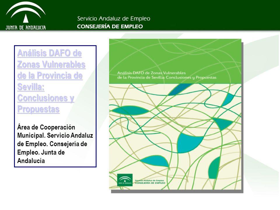Análisis DAFO de Zonas Vulnerables de la Provincia de Sevilla: Conclusiones y Propuestas Análisis DAFO de Zonas Vulnerables de la Provincia de Sevilla