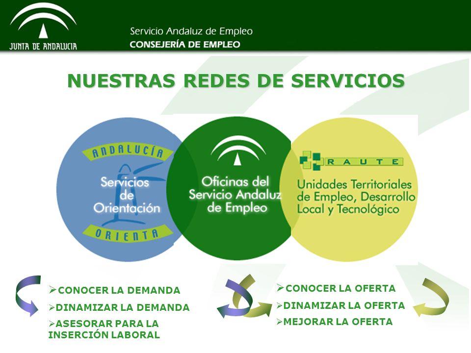 Otros Programas de Orientación e Inserción Otros Programas de Orientación e Inserción Experiencias profesionales para el Empleo Acciones Experimentales Acompañamiento a la Inserción Estudios y Difusión del Mercado de Trabajo