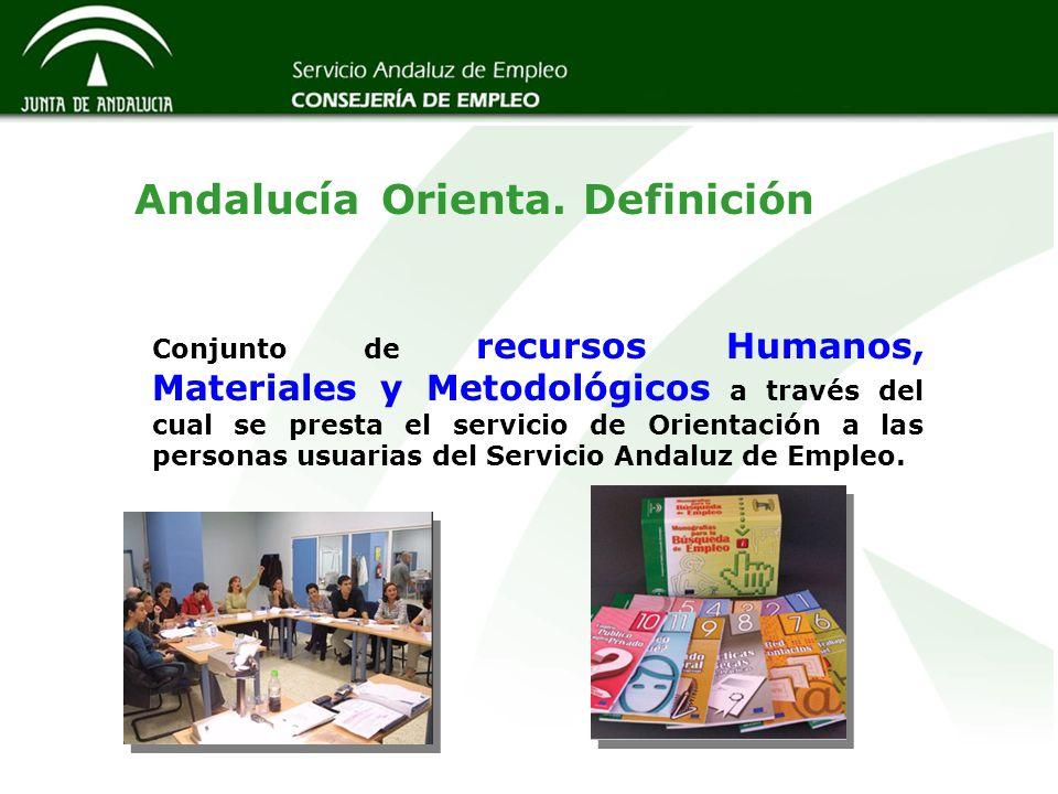 Conjunto de recursos Humanos, Materiales y Metodológicos a través del cual se presta el servicio de Orientación a las personas usuarias del Servicio A