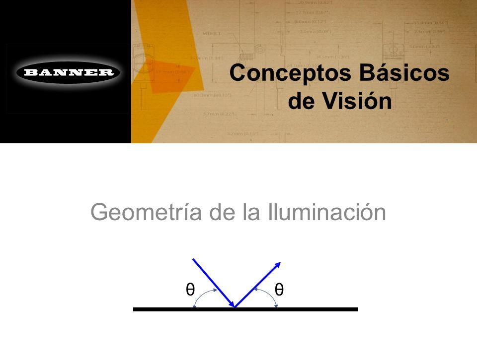 Conceptos Básicos de Visión Geometría de la Iluminación θ θ