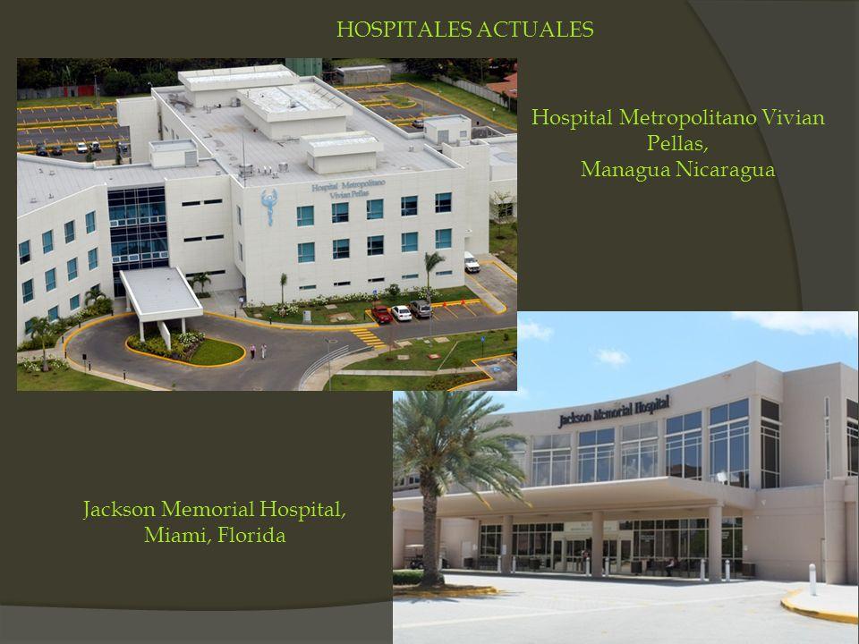 Hospital Metropolitano Vivian Pellas, Managua Nicaragua Jackson Memorial Hospital, Miami, Florida HOSPITALES ACTUALES