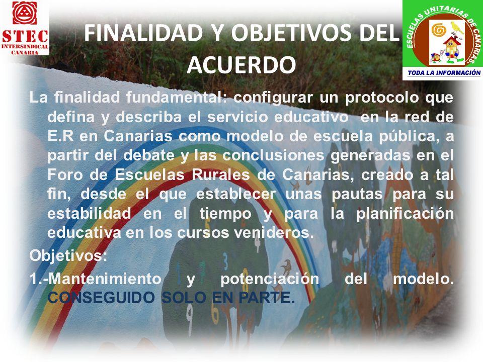OBJETIVOS 2, 3 Y 4 2.-Valorización del trabajo docente que se realiza en estos centros.