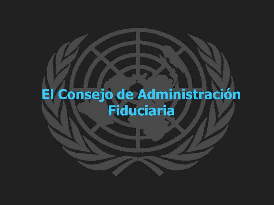 El Consejo de Administración Fiduciaria
