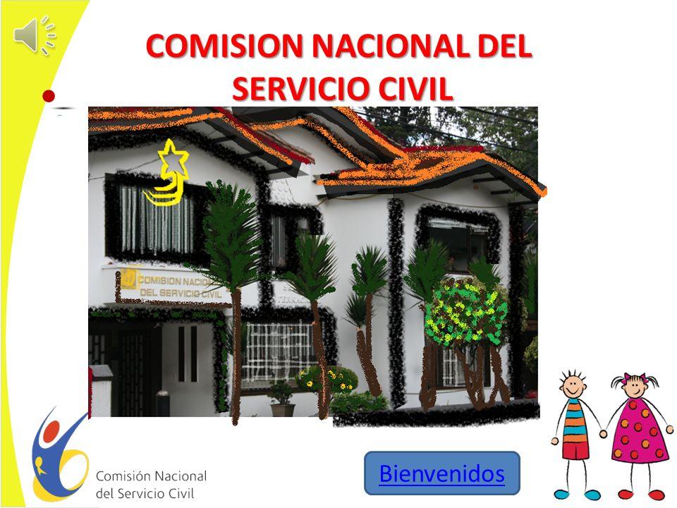 COMISION NACIONAL DEL SERVICIO CIVIL Bienvenidos