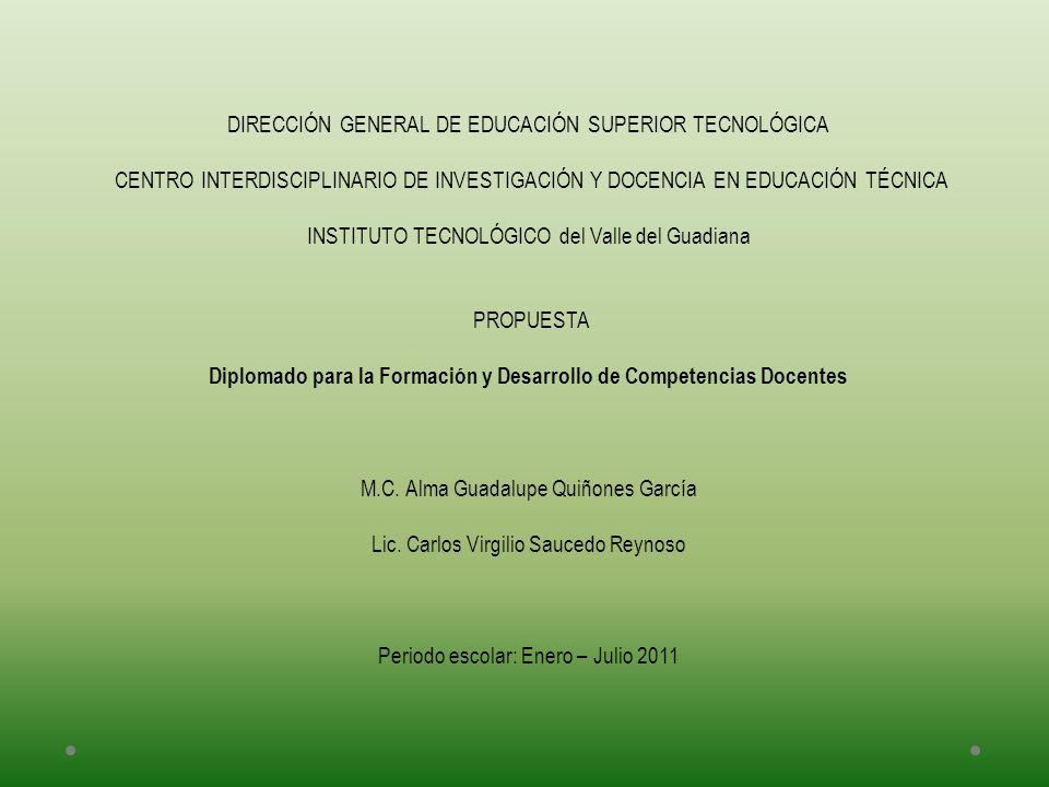 DIRECCIÓN GENERAL DE EDUCACIÓN SUPERIOR TECNOLÓGICA CENTRO INTERDISCIPLINARIO DE INVESTIGACIÓN Y DOCENCIA EN EDUCACIÓN TÉCNICA INSTITUTO TECNOLÓGICO d