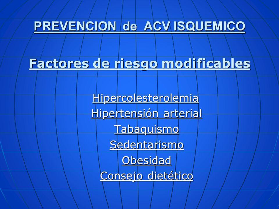 ACO: FA CHA2DS2 Recomendación de ACO CHA2DS2RECOMENDACIÓN ESTRATIFICACION DE RIESGO > o = 2ACO (RIN 2 – 3)ALTO 1 ACO o AAS 75 a 325 mg (se sugiere ACO) INTERMEDIO 0AAS, y no ACOBAJO