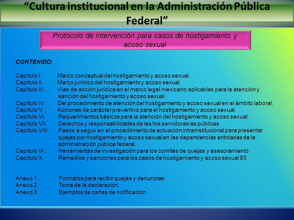 Cultura institucional en la Administración Pública Federal INCA RURAL, A.