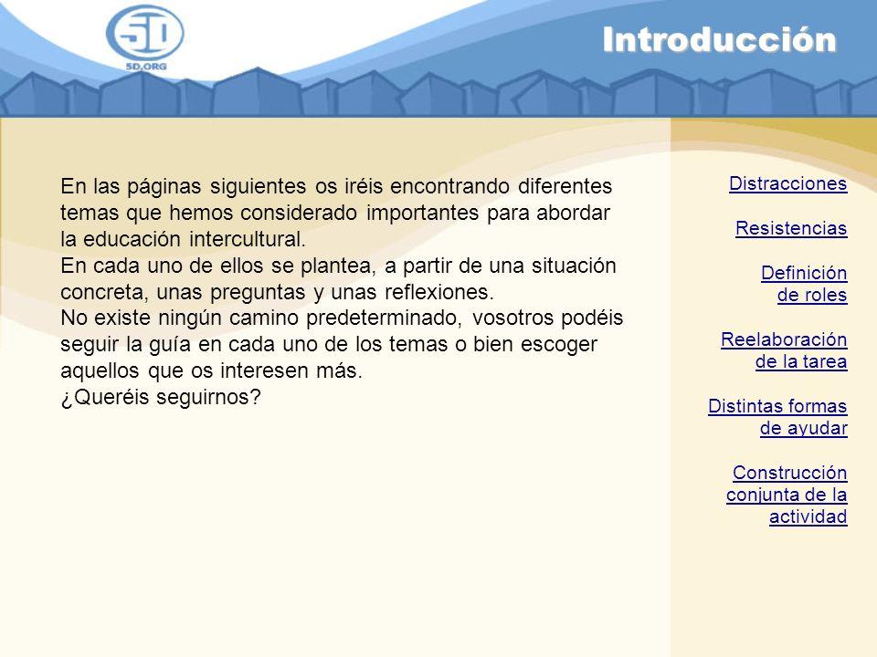 Resistencias ejemplo 2 ¿Cuál crees que será la respuesta de la educadora.