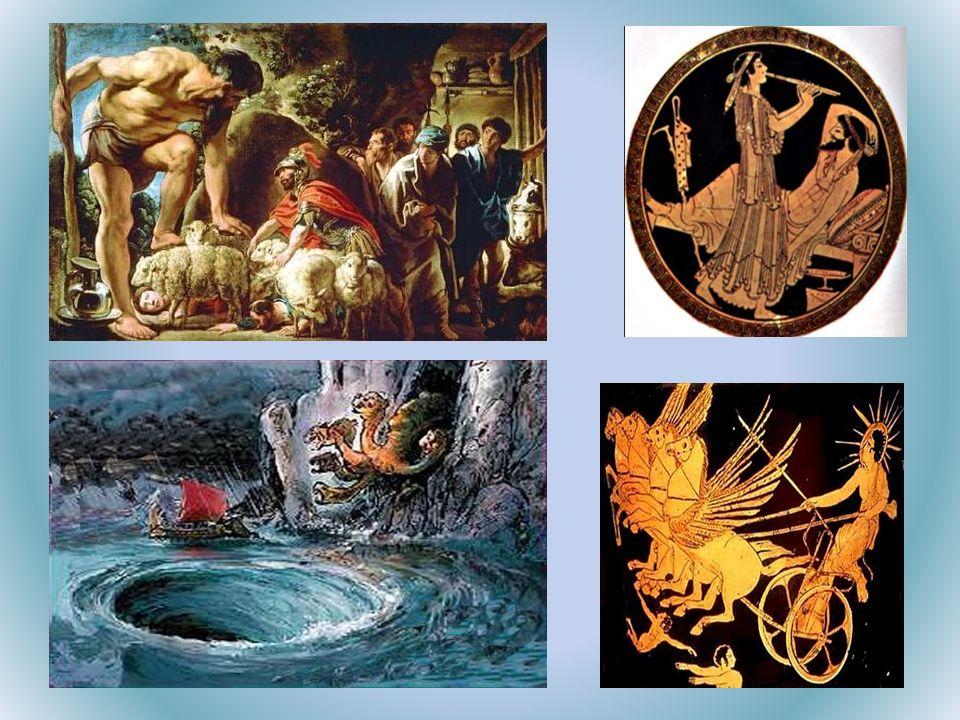 Estructura de la obra: La Odisea se puede dividir en: – Del canto I al canto IV; cuenta la parte en la que Telémaco decide embarcar en busca de su padre gracias a Atenea (la cual le acompaña durante todo el viaje), pero antes convoca una asamblea en la que les dice a los pretendientes de su madre que se marchen del palacio de Odiseo (Ulises) y también que él se marcha a Esparta y a Pilos para saber de su padre, pero estos como no quieren al día siguiente de la marcha de Telémaco deciden embarcarse para esperarle y prepararle una emboscada a su vuelta.