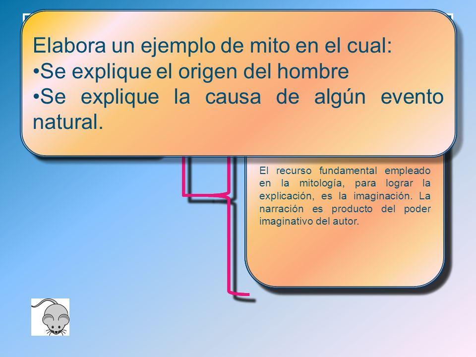 Mitología y Filosofía ¿Qué es un mito.