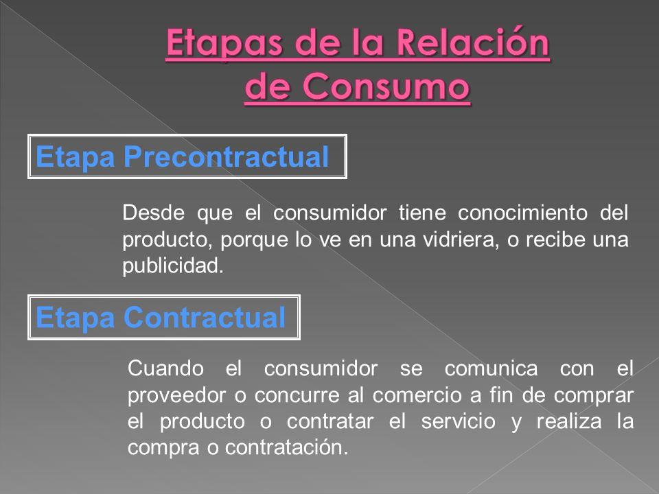 Desde que el consumidor tiene conocimiento del producto, porque lo ve en una vidriera, o recibe una publicidad. Cuando el consumidor se comunica con e