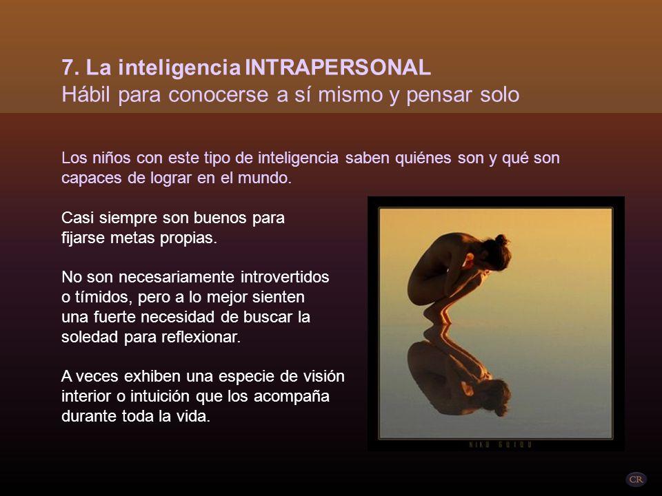 La inteligencia interpersonal incluye la capacidad de
