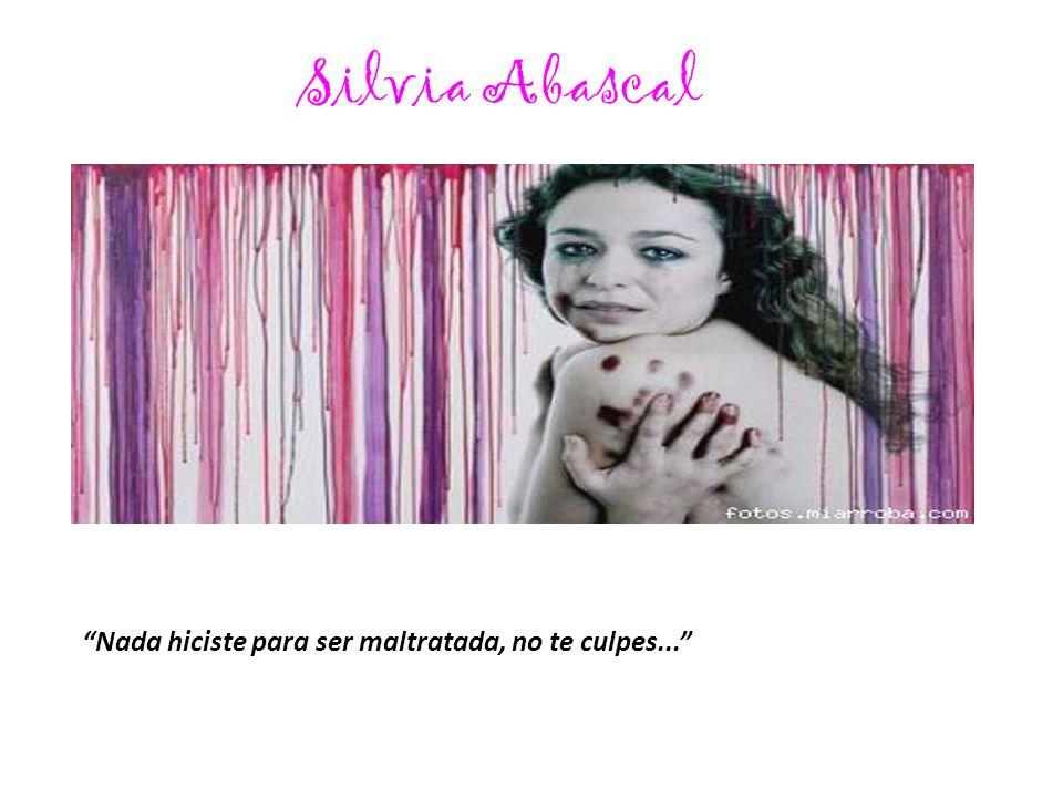 Juana Acosta Apoyo a todas las mujeres que denuncian la violencia de género.