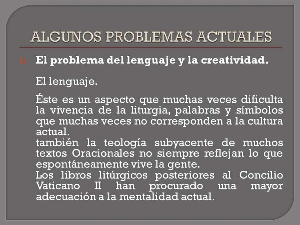 1) El problema del lenguaje y la creatividad. El lenguaje.