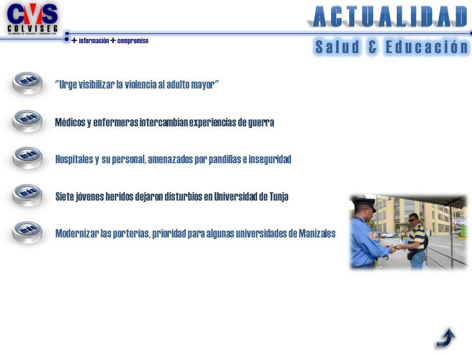 + información + compromiso