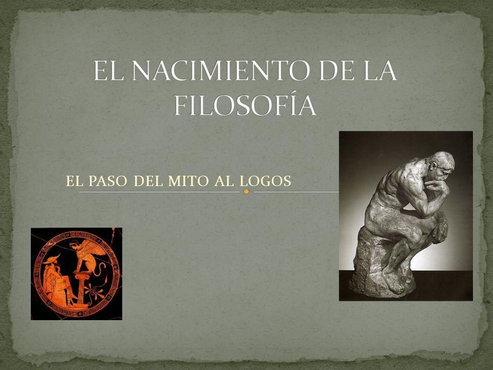 LA NECESIDAD DE COMPRENDER EL MUNDO LLEVÓ A LOS POETAS A ELABORAR COMPLEJAS NARRACIONES ACERCA DE LOS DIOSES, LOS HOMBRES Y LA NATURALEZA.