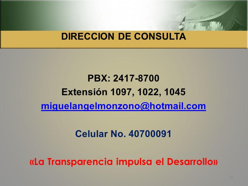 Legislación específica que regula la Auditoria Social: 28-31, Constitución Política de la República de Guatemala 3, Ley Orgánica de la Contraloría Gen
