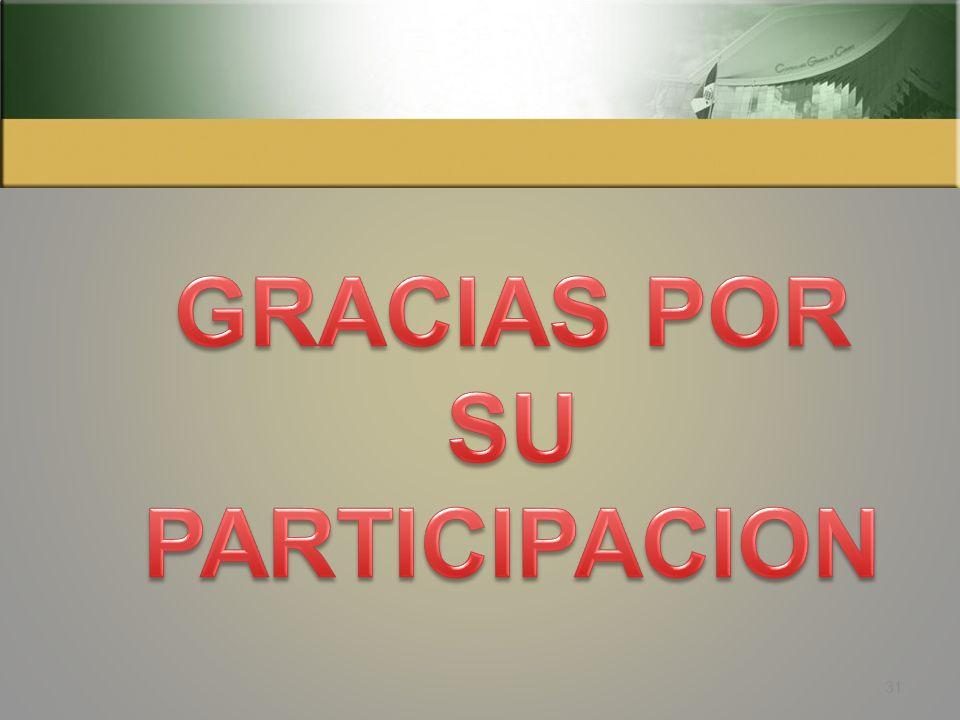 PROCESO DE LA AUDITORIA PLANIFICACIÓN ESPECÍFICA EJECUCION DEL TRABAJO COMUNICACIÓN DE RESULTADOS (Segunda Fase para capacitación) 30