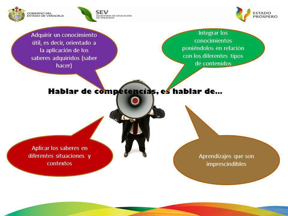 COMPETENCIAS PARA LA VIDA Competencias para el aprendizaje permanente Competencias para el manejo de la información Competencias para el manejo de situaciones Competencias para la convivencia Competencias para la vida en sociedad