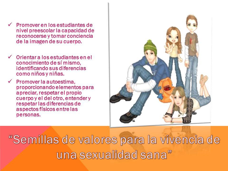 ACTIVIDADES PRESENTACIÓN DEL PROYECTO DE EDUCACIÓN SEXUAL 2011 Semillas de valores para la vivencia de una sexualidad sana.