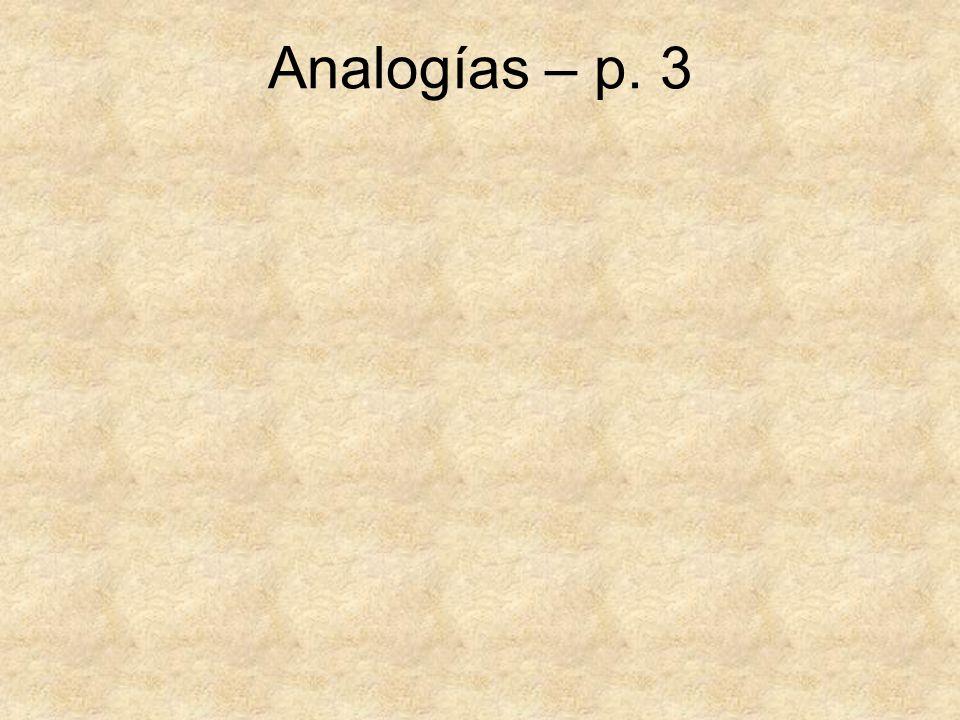Analogías – p. 3