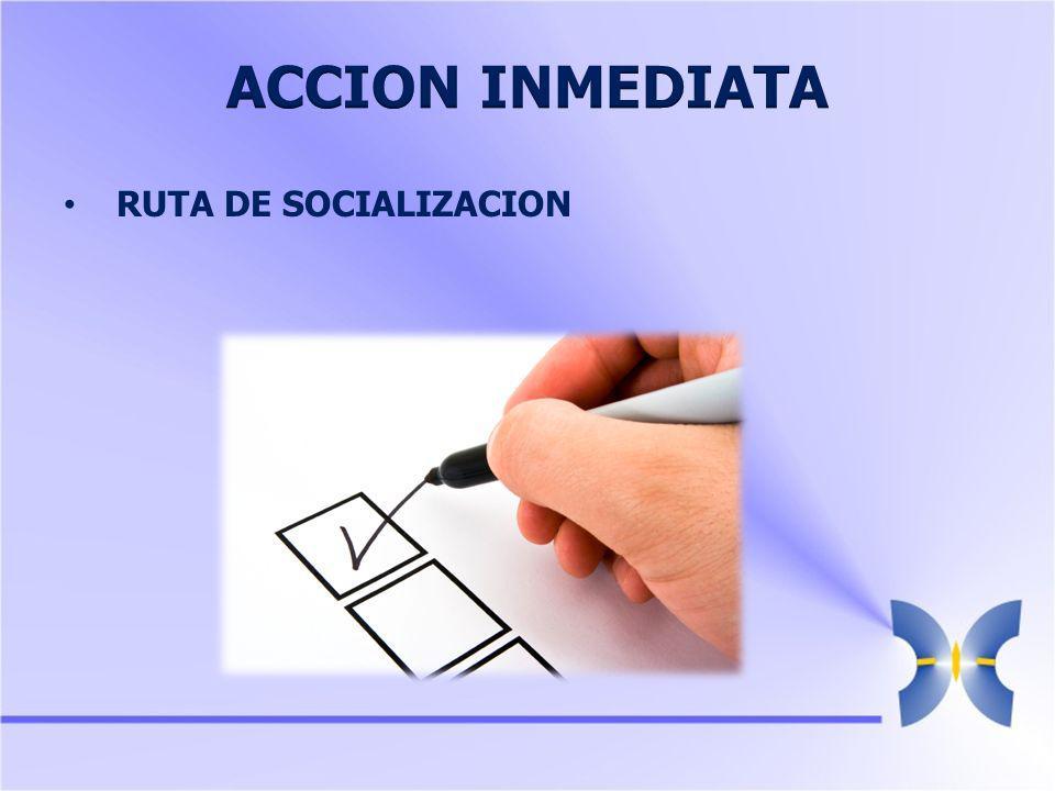 RUTA DE SOCIALIZACION