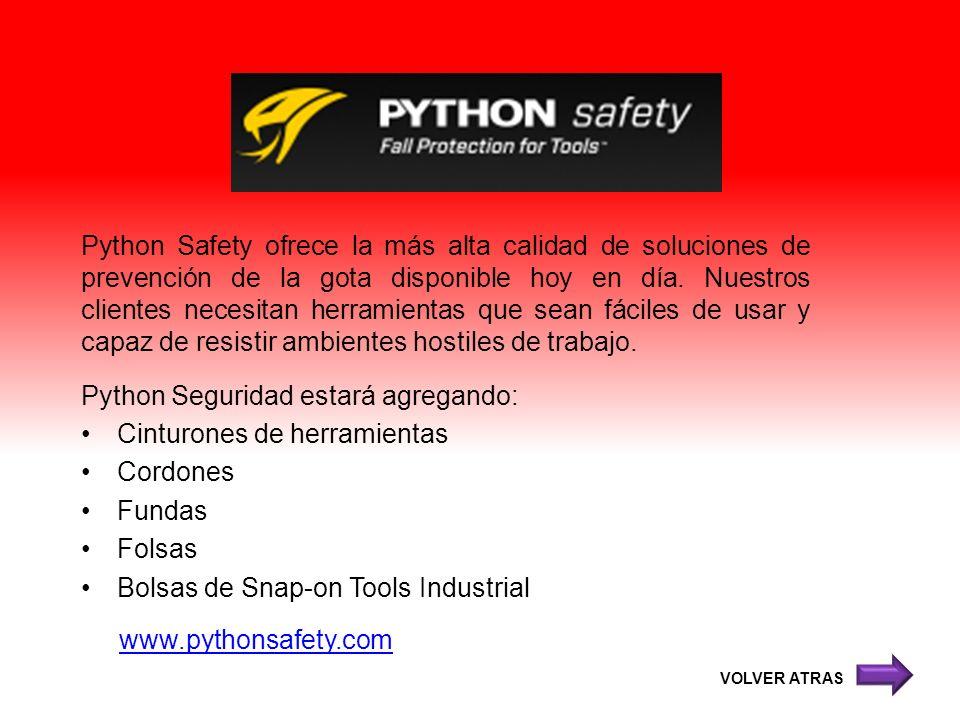 Python Safety ofrece la más alta calidad de soluciones de prevención de la gota disponible hoy en día. Nuestros clientes necesitan herramientas que se