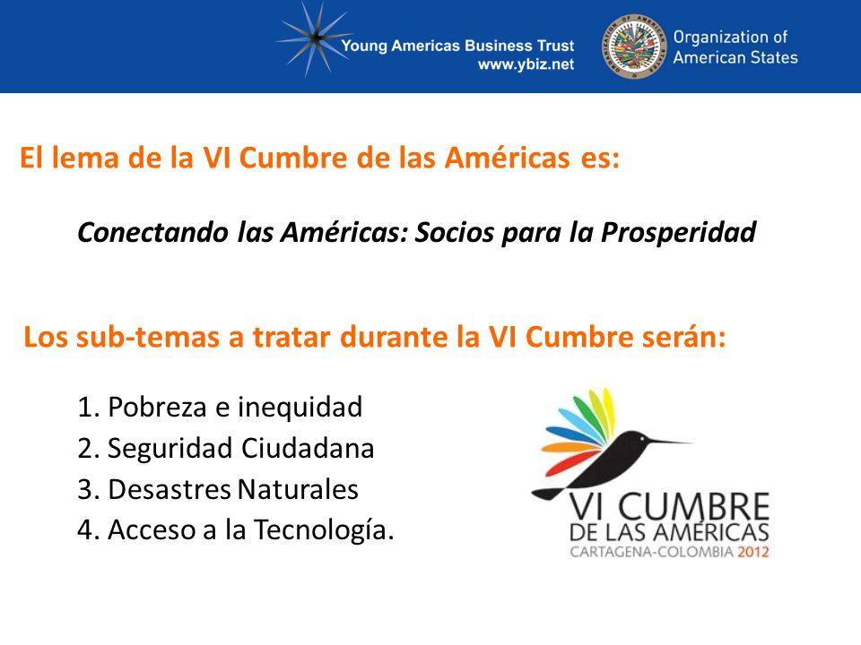 Conectando las Américas: Socios para la Prosperidad 1.