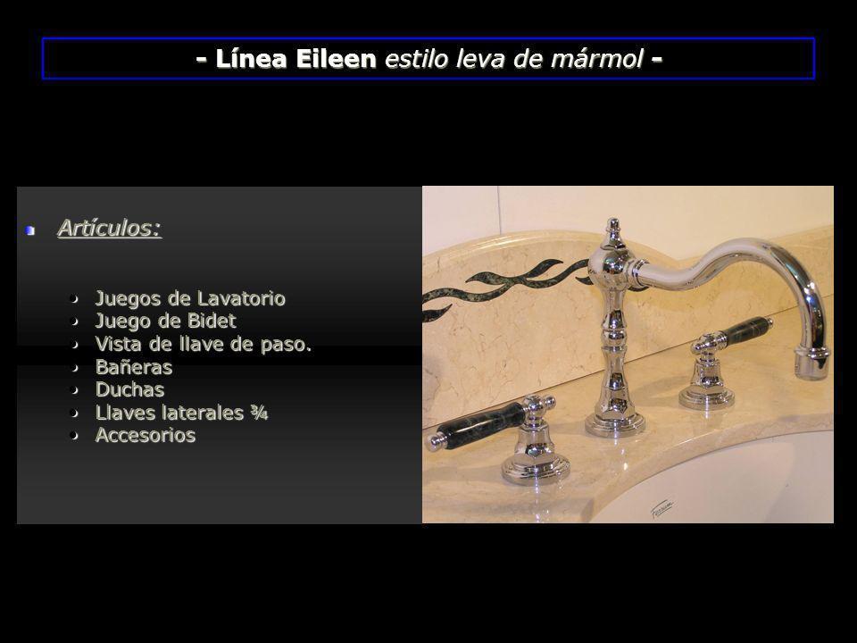 Artículos: Juegos de LavatorioJuegos de Lavatorio Juego de BidetJuego de Bidet Vista de llave de paso.Vista de llave de paso. BañerasBañeras DuchasDuc