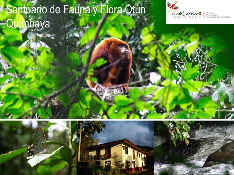 Santuario de Fauna y Flora Otún Quimbaya