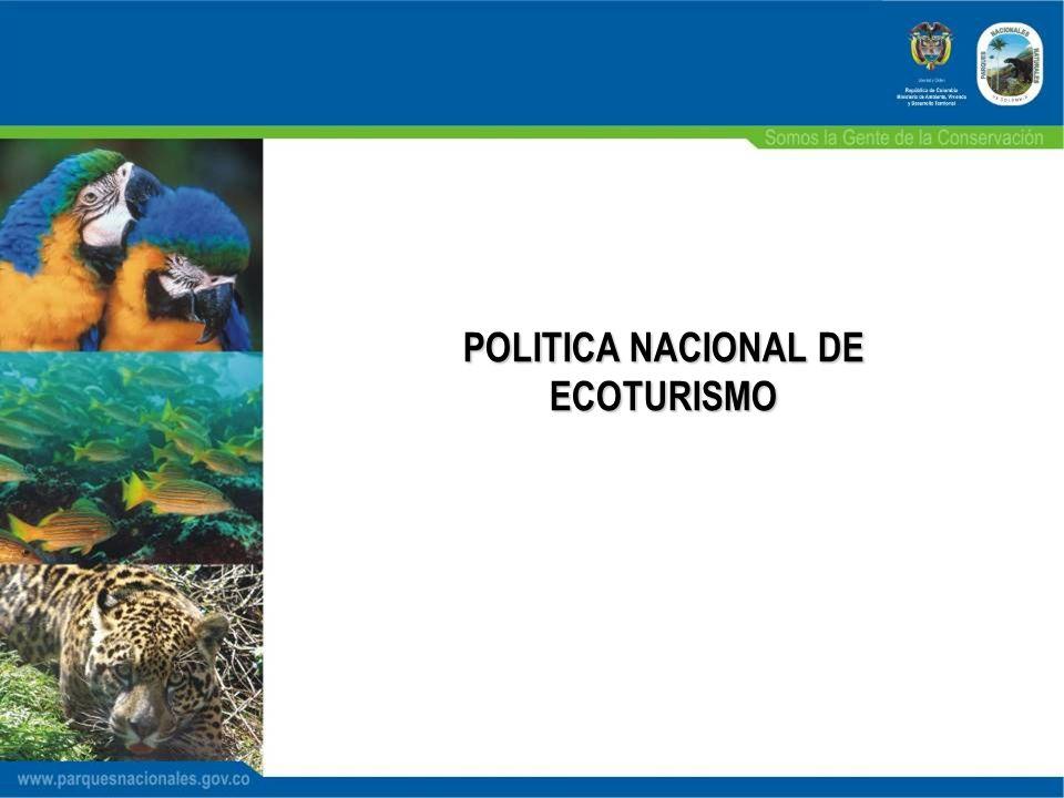 POLITICA NACIONAL DE ECOTURISMO