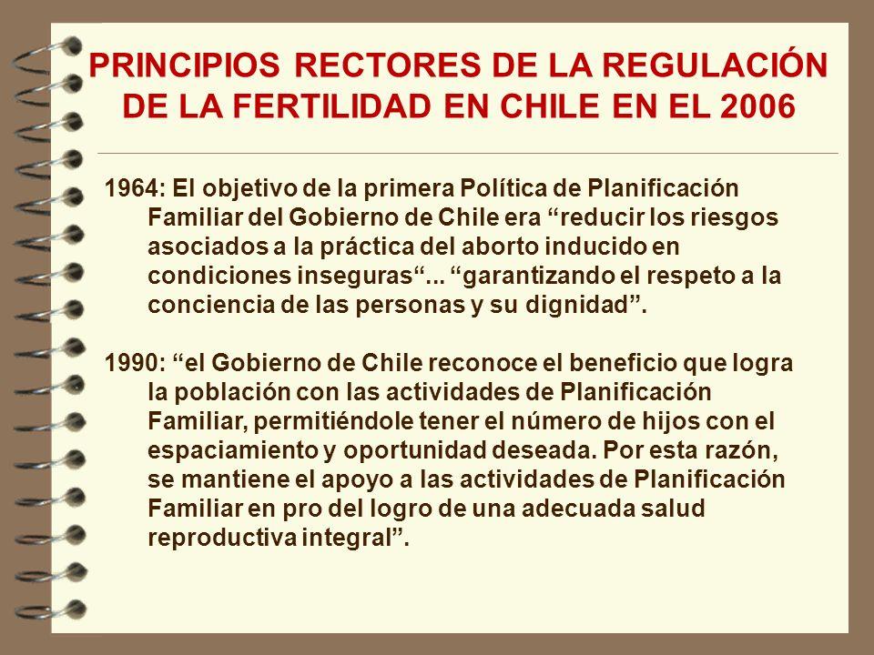 1964: El objetivo de la primera Política de Planificación Familiar del Gobierno de Chile era reducir los riesgos asociados a la práctica del aborto in