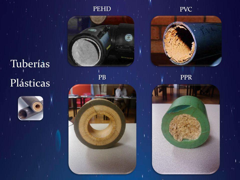 Tuberías Plásticas PEHD PVC PBPPR