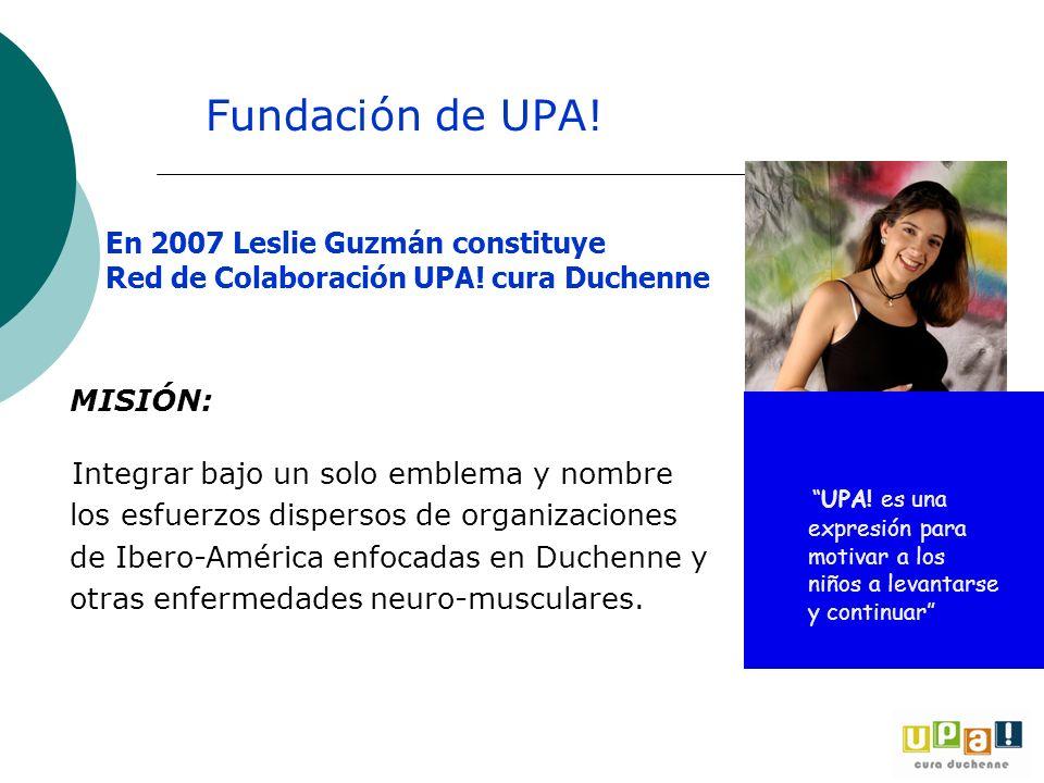 MISIÓN: Integrar bajo un solo emblema y nombre los esfuerzos dispersos de organizaciones de Ibero-América enfocadas en Duchenne y otras enfermedades n