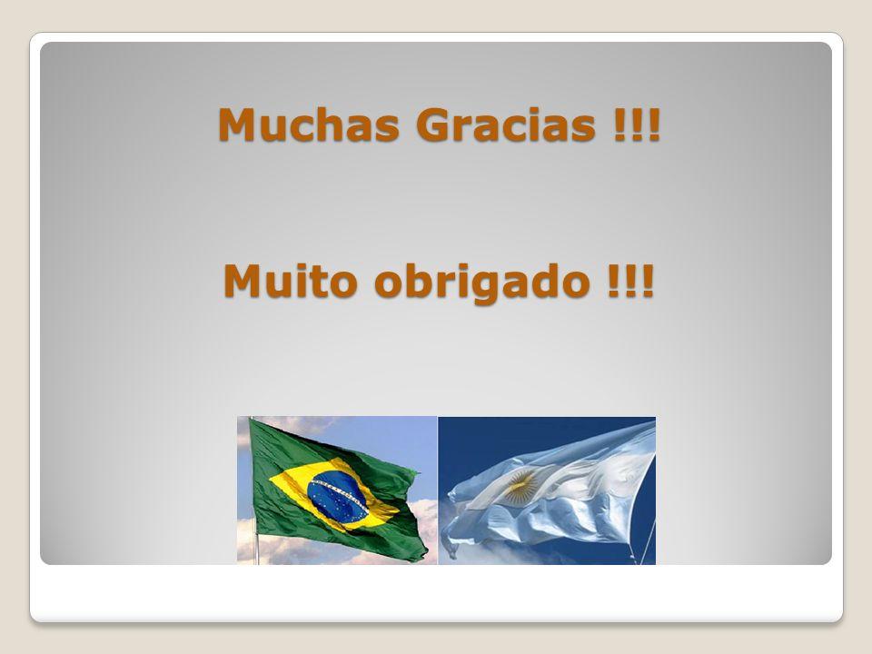 Muchas Gracias !!! Muito obrigado !!!