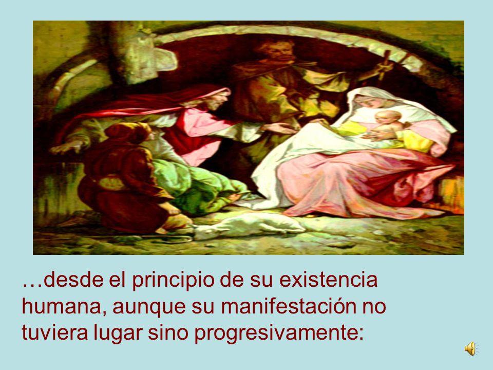 El Hijo único del Padre, al ser concebido como hombre en el seno De la Virgen María, es CRISTO, es decir, el UNGIDO por El Espíritu Santo…
