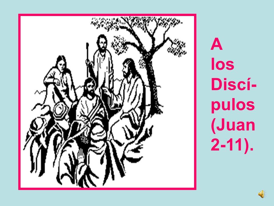 A Juan el Bautista (Juan 1-31-34).